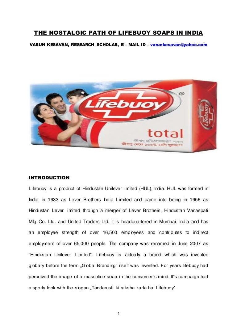 brand equity of lifebuoy