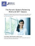 The Nurse's Guide to Balancing Work and OET Classes