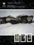 Remax Brochure:  Executive Family Home in 'The Oaks'