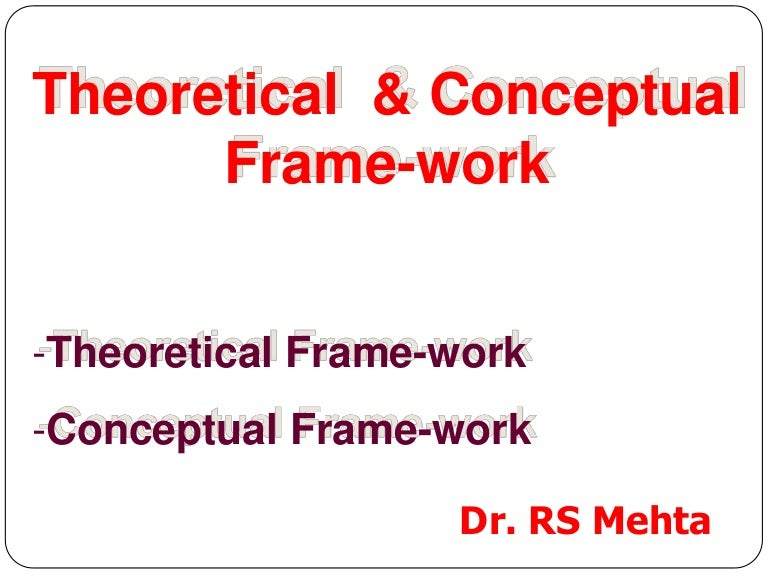 research proposal conceptual framework of accounting