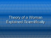 Theory Of A Woman