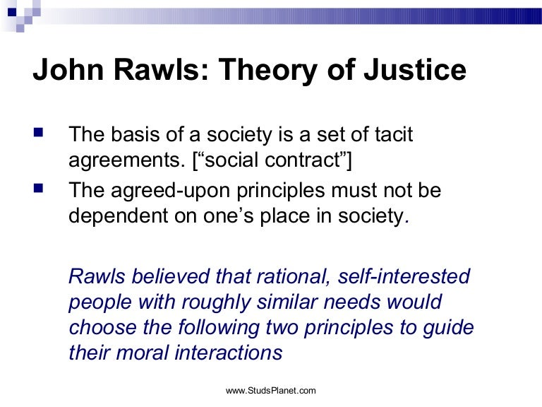 New Thinking on Social Justice