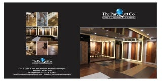 the parquet co brochure