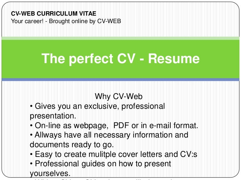 Resume Demo | Resume Cv Cover Letter