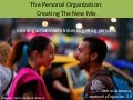 The Personal Organization: The New Mix
