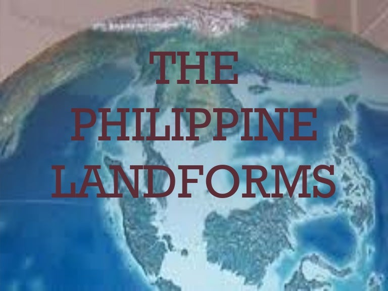 The philippine landforms sciox Image collections