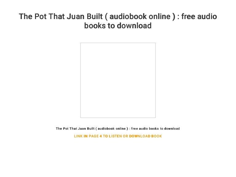 the pot that juan built