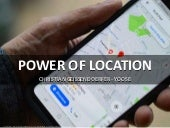 The power of location in Mobile Marketing at DMSS Conference
