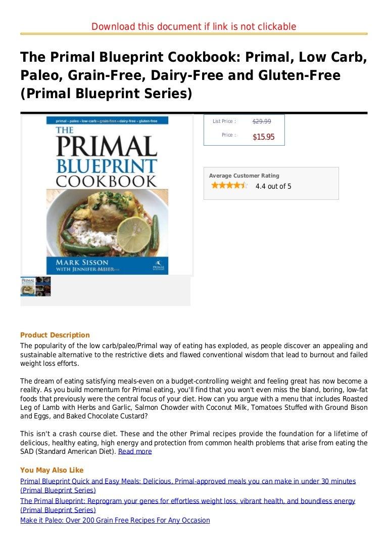 The primal blueprint cookbook primal low carb paleo grain free d malvernweather Gallery