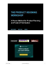 The product visioning workshop (ProductCamp Boston 2015)