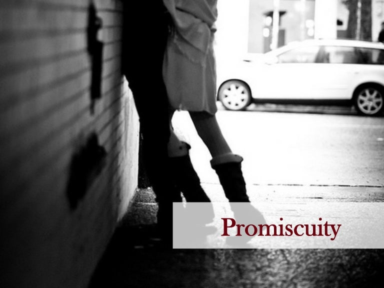 Low self esteem and promiscuity