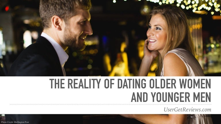 Younger guys and older women