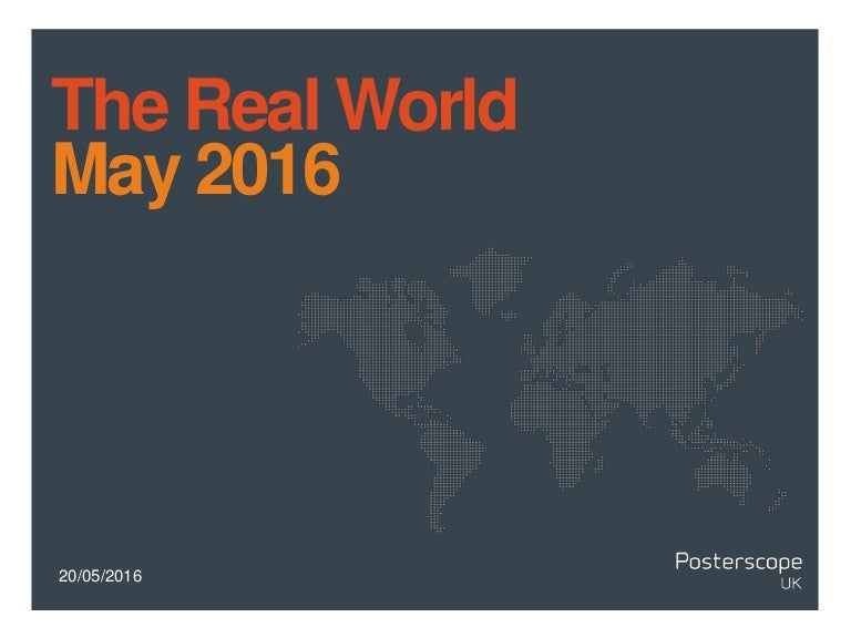 The Real World May 2016.pptx2