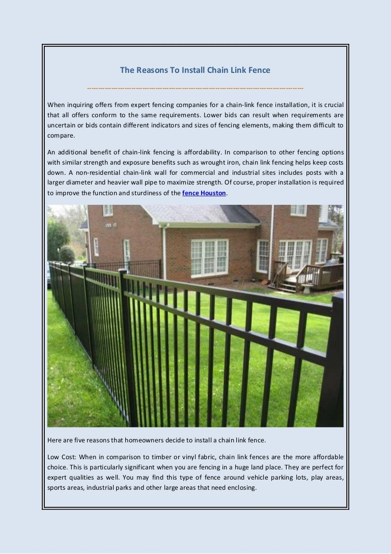 Install chain link fence on slope | Peatix