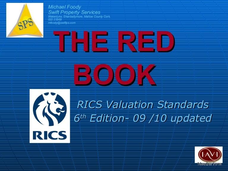 Rics Red Book