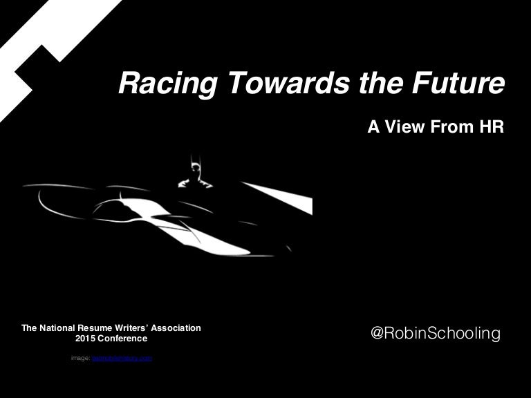 the resume is not dead racing toward the future