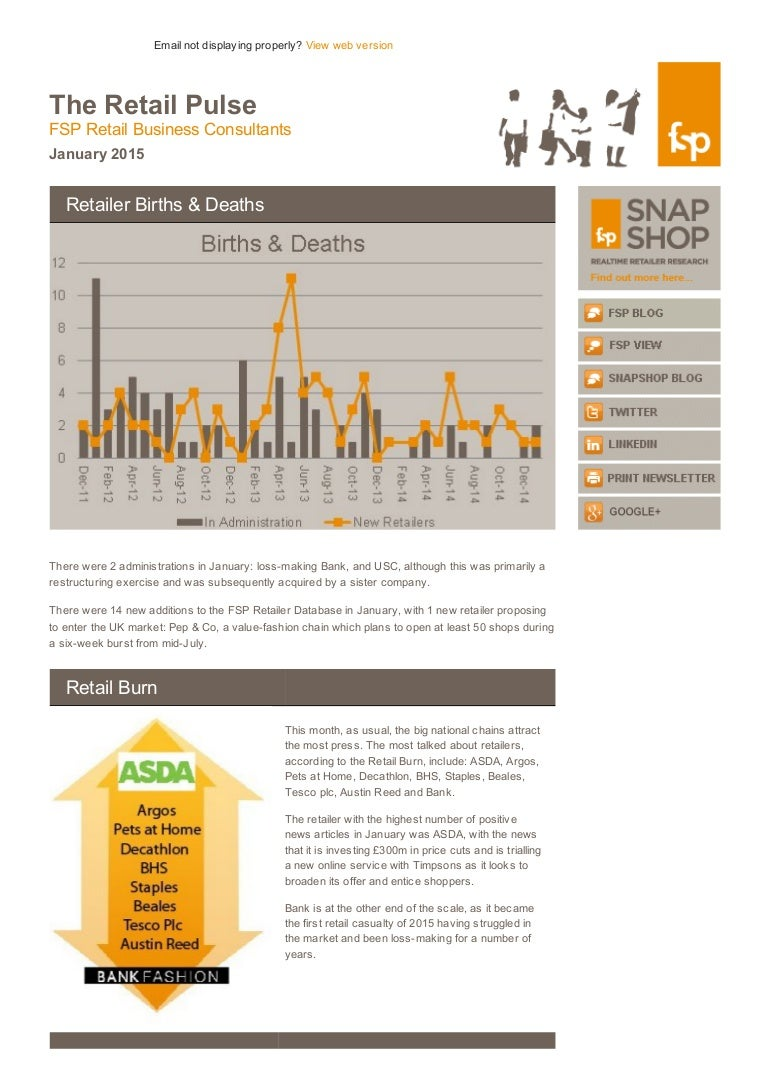 Fsp Retail Pulse January 2015 Uk Retail News