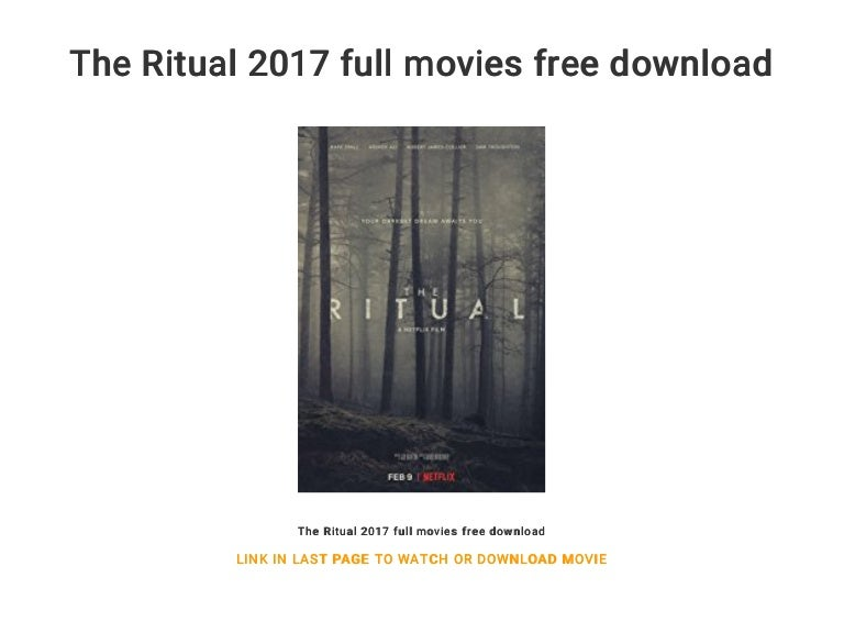watch the ritual 2017 online free