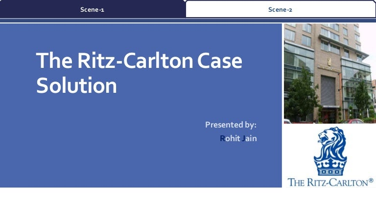 the ritz carlton case analysis Jacobson, andrew, measuring the effectiveness of service management on priority assessment: a case study for the ritz-carlton  a case study for the ritz carlton.