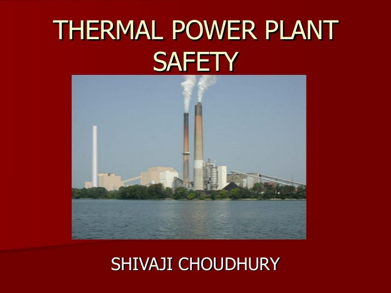 Working Of Thermal Power Plant Pdf