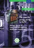 The Scope for Energy Saving in the EU through the Use of Energy-Efficient Distribution Transformers