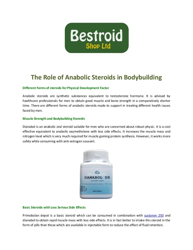 The role of anabolic steroids in bodybuilding