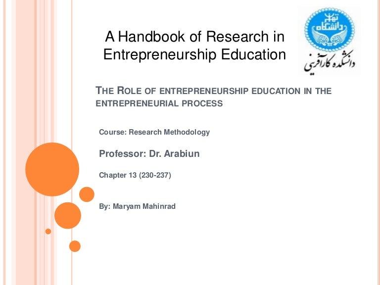 Role of entrepreneurship in forex earning