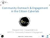 The role of The Mobile Collective, in the EU FP7 Citizen Cyberlab project