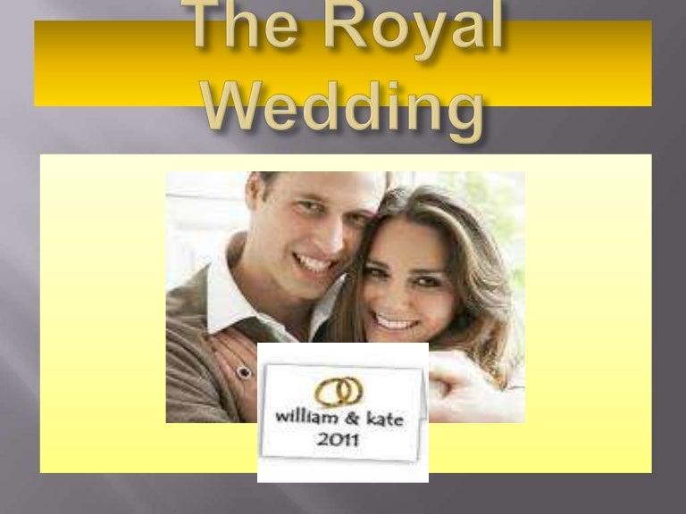 the royal wedding power point presentation