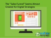 The Sales Funnel seems almost created for Digital Strategies