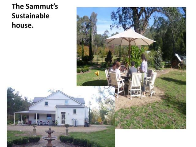 The sammut's sustainable house