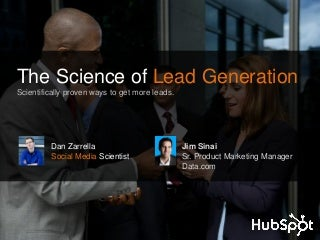 The Science behind Lead Generation