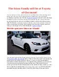 The Scion family will be at Toyota of Clermont!