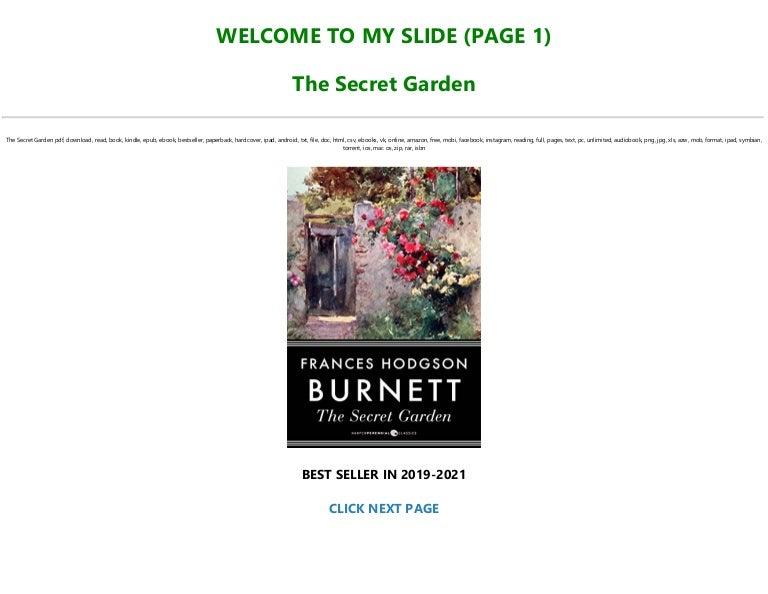 Free EBOOK [P.D.F] The Secret Garden Full-Acces