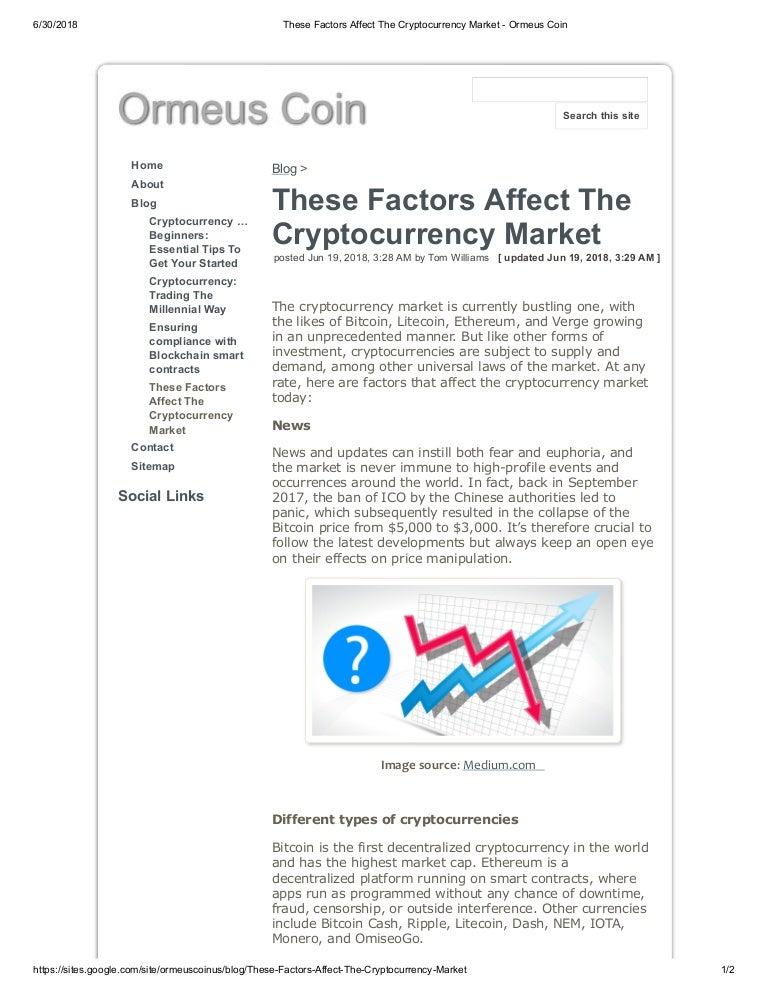 cryptocurrency market sites