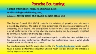 These things to do immediately about porsche ecu tuning