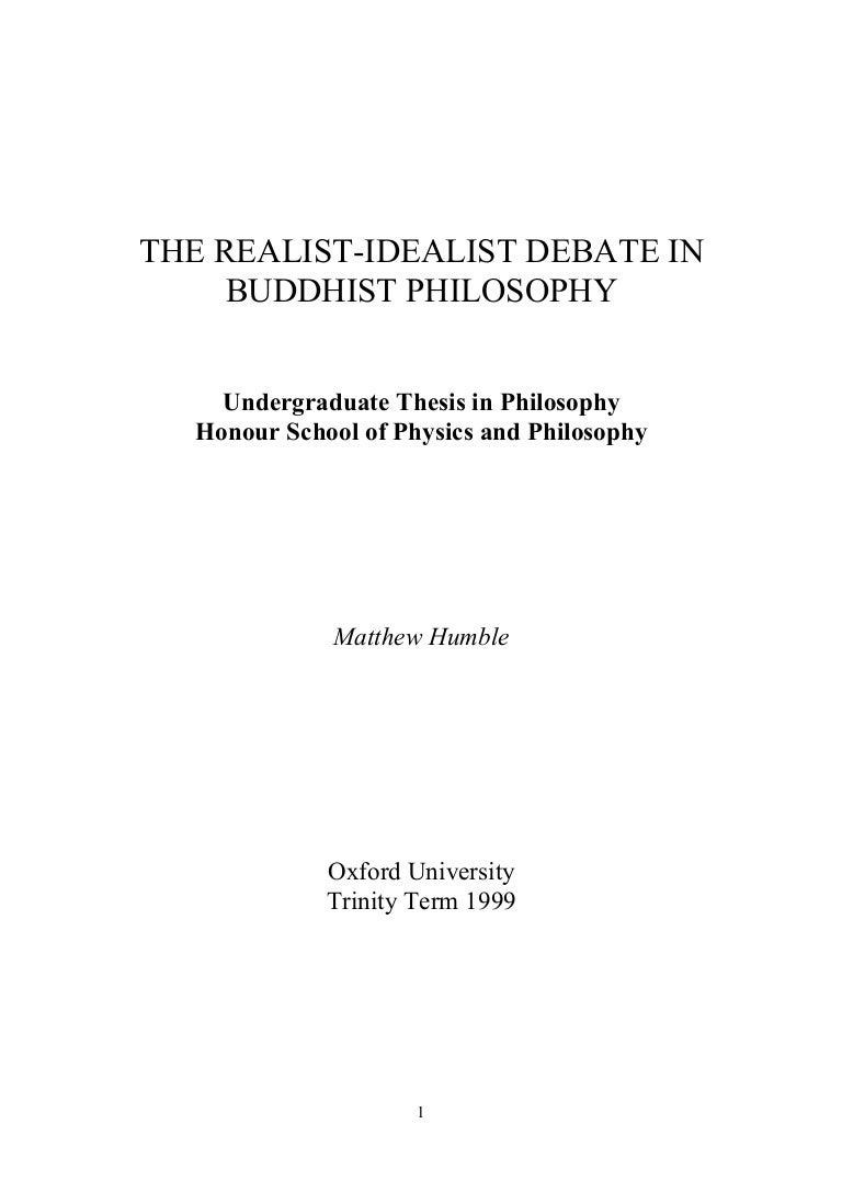 a comparison between an idealist and realist school system The realism is the anti-thesis of idealism some jurists refuse to accept the realist school as a separate school of jurisprudence american realism is a combination of the analytical positivism and sociological approaches.