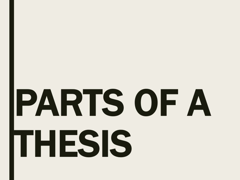 pwu thesis format