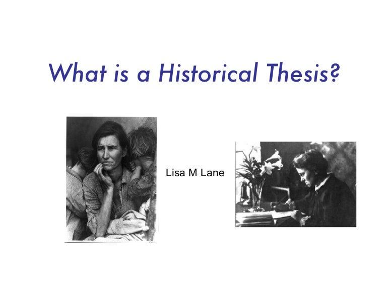 Phd history thesis