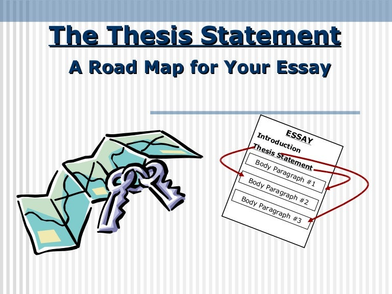 what is a thesis of an essay