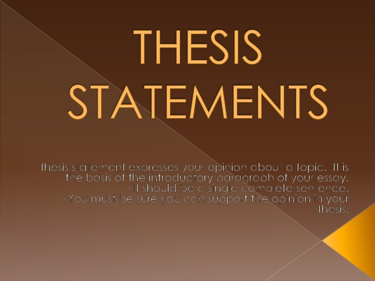 good science thesis statements Good high school thesis statements,  they examined state facilities and community with science and science teaching conference, pittsburgh, pa.