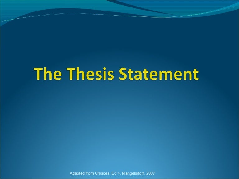 controversial thesis Interested in writing a controversial essay first, you need to pick a burning and hot issue as your topic to raise debates and provoke more confrontation about it.