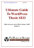 Thesis theme seo guide