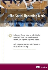 The Social Operating Model - White Paper