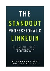 The Standout Professional's Linkedin ~ sample
