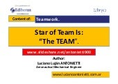 Star of Team Is the TEAM - Luciano Lujan ANTONIETTI.
