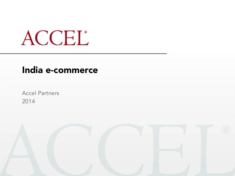 The state of E Commerce in india april 2014