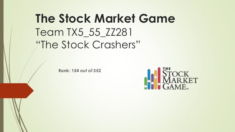 The Stock Market Game Presentation