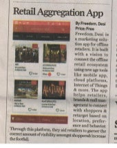 Freedom.Desi - App Review Coverage in The Sunday Guardian