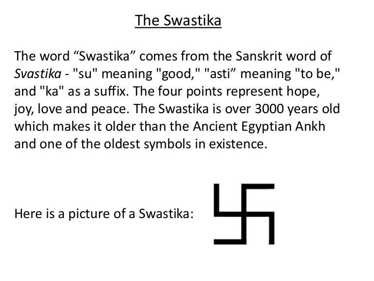 The Swastika And Adolf Hitler